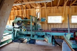 7653011-an-interior-of-a-small-saw-mill