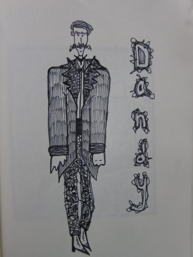 dandy boy sketch